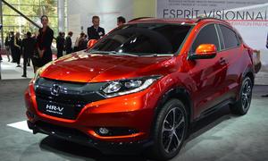 Honda HR-V Pariser Autosalon 2014 Live Bilder Studie Kompakt-SUV Concept Car