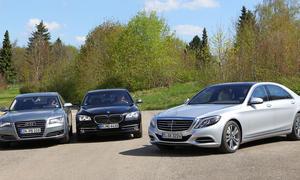 Luxuslimousinen Gebrauchtwagen Mercedes S-Klasse Audi A8 BMW 7er Ratgeber Tipps