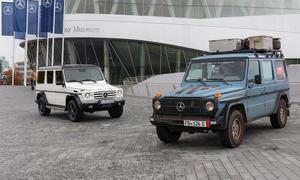 Mercedes G-Modell 35 Jahre Weltreise Otto G-Klasse Jubiläum