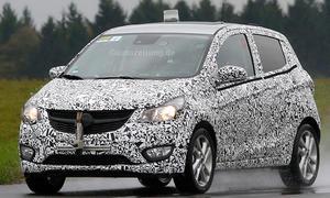 Opel Karl 2015 Erlkoenig Mini-van Kleinwagen Agila-Nachfolger