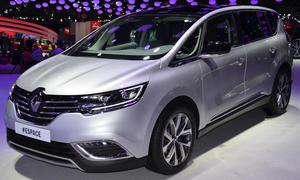 Renault Espace Familien-Van Crossover Premiere Pariser Autosalon 2014