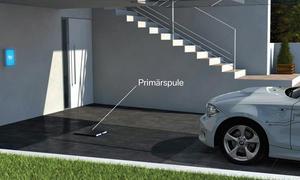 Special Automechanika Herbst Trends Technik BMW Induktiv-Ladung Elektroauto