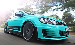 VW Golf GTI Tuning folierung Car wrapping cam shaft Leistungssteigerung PP Performance Fahrwerk H und R 0002