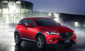 2015 Mazda CX 3 2014 LA Auto Show Kompakt SUV Neuheit Bilder 0002