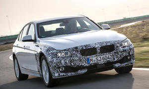BMW 3er Plug in Hybrid 2015 PHEV Prototyp Fahrbericht