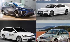 Brennstoffzellen autos LA Auto Show 2014 golf Hymotion Toyota Mirai