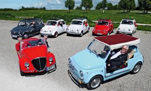 Fiat 500 Ikonen Oldtimer Abarth Giardiniera Jolly Vignale Classic Cars