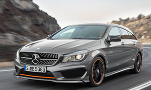 Mercedes CLA Shooting Brake 2015 Genf Kombi Coupe Design Genfer Autosalon