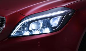 Mercedes Multibeam LED Scheinwerfer 2015 84 Leuchtdioden