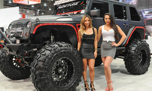 SEMA 2014 Girls Tuningmesse Las Vegas Schönheiten Hostessen