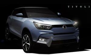 SsangYong Tivoli Kompakt SUV 2015 Urban Dynamic City Offroader