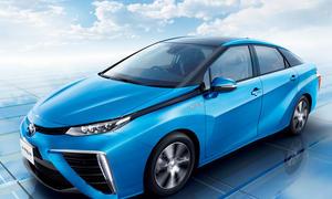 Toyota Mirai 2014 Preise Markteinführung Brennstoffzellen Auto Zukunft
