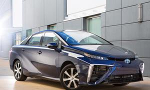 Toyota Mirai 2015 Brennstoffzellen auto technik zukunft