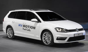 Vw Golf Variant HyMotion 2014 L.A. Auto Show Brennstoffzelle Antrieb alternativ Wasserstoff