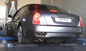 Web-Video: Quattroporte-Sound