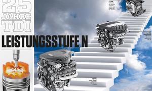 Technik 25 Jahre TDI Audi Motoren Diesel Jubiläum