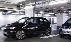 BMW i3 CES 2015 vollautomatisches Parken im Parkhaus
