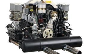 Porsche 356 Vierzylinder-Boxer Motor Technik Bilder