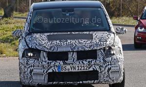 VW Touran 2015 erlkoenig Van Bilder Premiere Auto Salon Genf 2015 info technische daten 0002