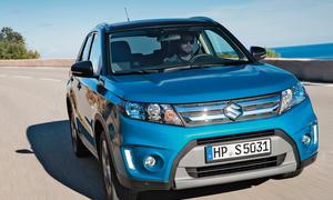 Suzuki Vitara neu 2015 Fahrbericht Bilder Front