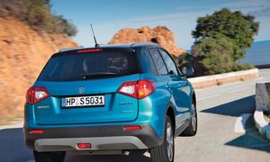 Suzuki Vitara neu 2015 Fahrbericht Bilder Heck
