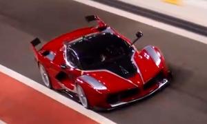Frisch aus dem Netz: Ferrari FXX K 2015 im Video