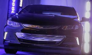 2016 Chevrolet Volt 2015 Detroit Auto Show Elektroauto Facelift