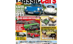AUTO ZEITUNG Classic Cars 02 2015 Heft Vorschau Cover