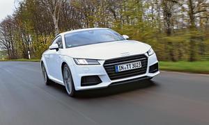 Audi TT Coupé 2.0 TDI ultra 2015 Test Bilder technische Daten