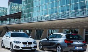 BMW 1er Facelift 2015 Genf Kompaktklasse Modellpflege