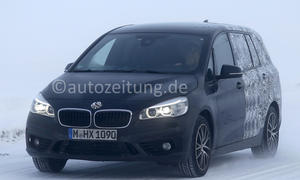BMW 2er Gran Tourer 2015 Genf Erlkoenig Siebensitzer Van Langversion