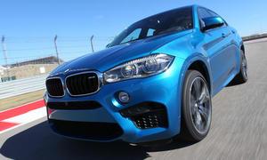 Fahrbericht BMW X6 M 2015 Power SUV Coupe 575 PS