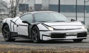 Ferrari 458 M 2015 Erlkoenig Turbo V8 Facelift 398 T