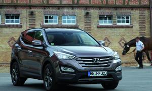 Hyundai Santa Fe 2015 SUV Komfort Crossover