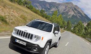 Jeep Renegade 1.6 Multijet 2015 SUV Diesel Vierzylinder Test Bilder