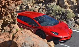 Lamborghini Aventador SV 2015 Genf SuperVeloce Supersportler