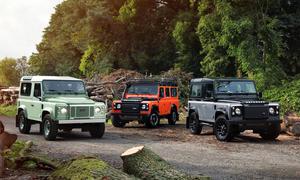 Land Rover Defender 2015 Sondermodell Abschied