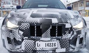 Maserati Levante 2015 Erlkoenig bilder luxus SUV sport v6 v8 ghibli 0002