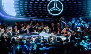 Mercedes Studie CES 2015 F 015 Luxury in Motion Las Vegas Concept Car