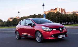 Renault Clio KBA Neuzulassungen 2014 Kleinwagen City Cars Top Ten Verkaufszahlen