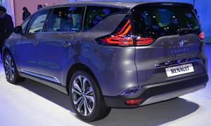Renault Espace 2015 Preise Preis ausstattung motoren diesel Van 5 sitzer 7 0002