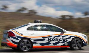 Volvo S60 Polestar Polizeiauto Australien T6