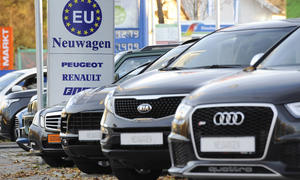 Automarkt Deutschland Januar 2015 Pkw-Neuzulassungen KBA-Zahlen