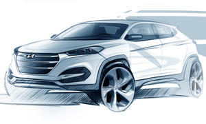 Hyundai Tucson 2015 Autosalon Genf Kompakt-SUV