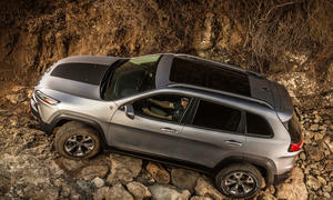Jeep Cherokee Rückruf 2015 Seiten-Airbags Fiat Chrysler Software Update