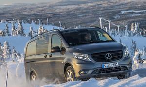 Mercedes Vito 4x4 4matic Allradantrieb
