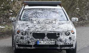 2017 BMW X7 Erlkönig-Mule Luxus-SUV 7er Gewichte