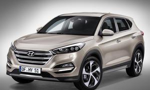 Hyundai Tucson 2015 Genfer Autosalon Kompakt-SUV
