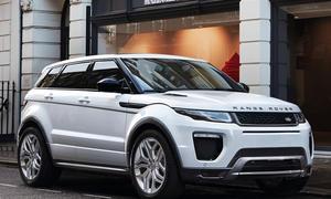 Range Rover Evoque 2015 Facelift Kompakt-SUV Genfer Autosalon 2015