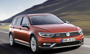 VW Passat Alltrack 2015 Genfer Autosalon B8 Offroad Allradantrieb Mittelklasse Kombi
